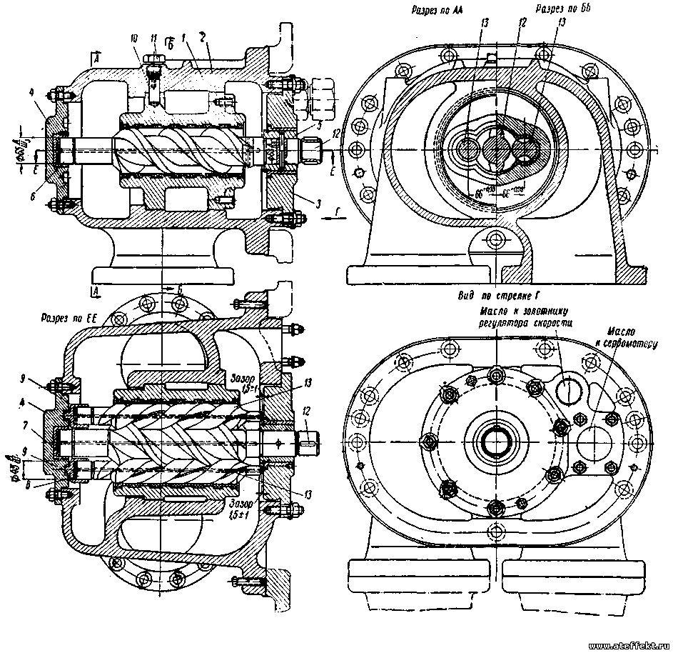 Масляный насос ВК-50